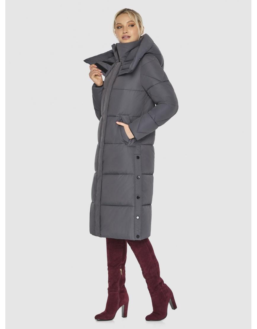 Куртка Kiro Tokao женская стильная серая 60024 фото 5