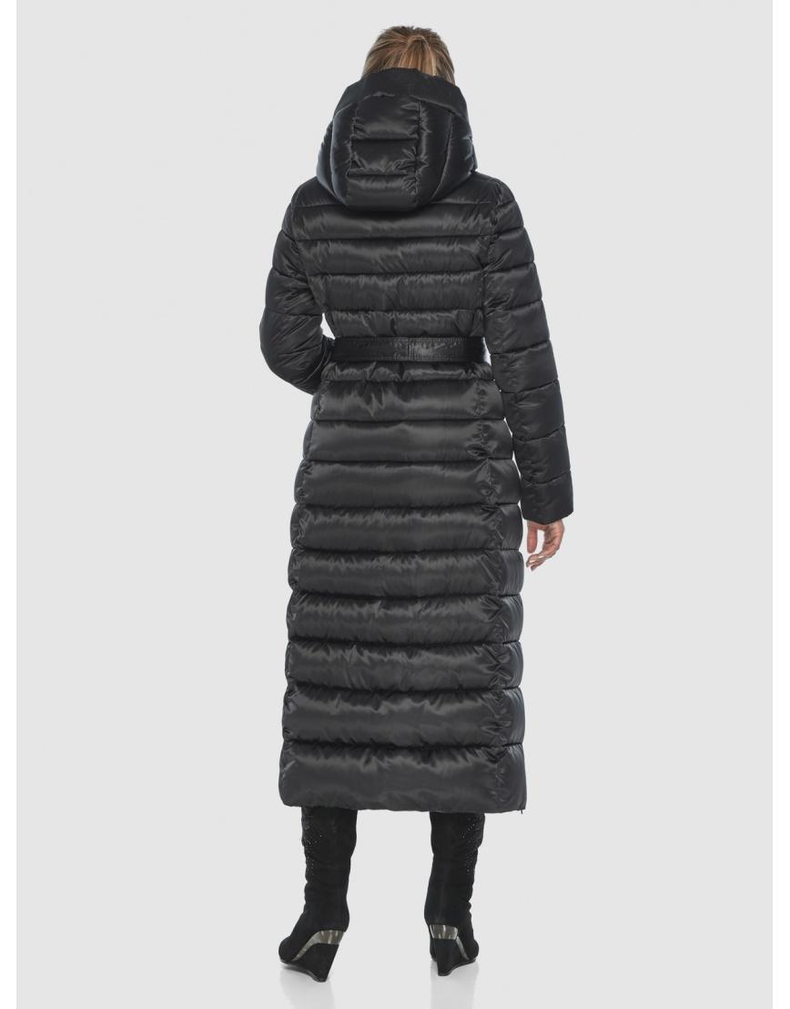 Чёрная куртка Ajento практичная зимняя для подростков 23320 фото 4