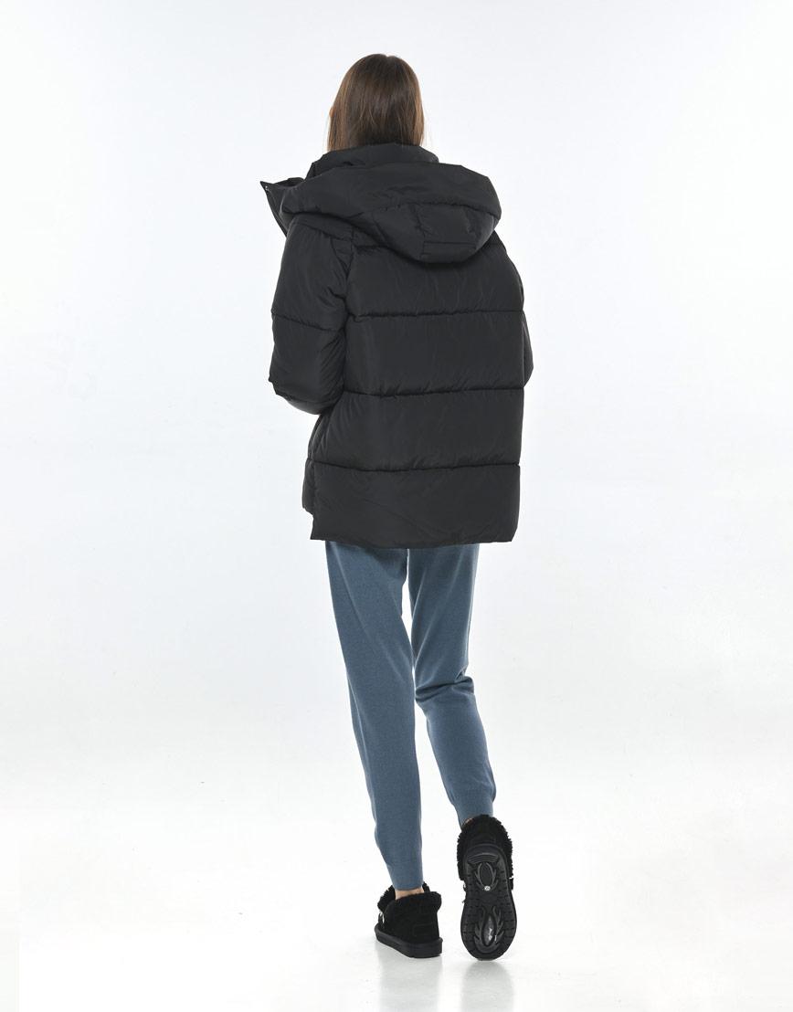 Короткая чёрная куртка Vivacana женская 7354/21 фото 3
