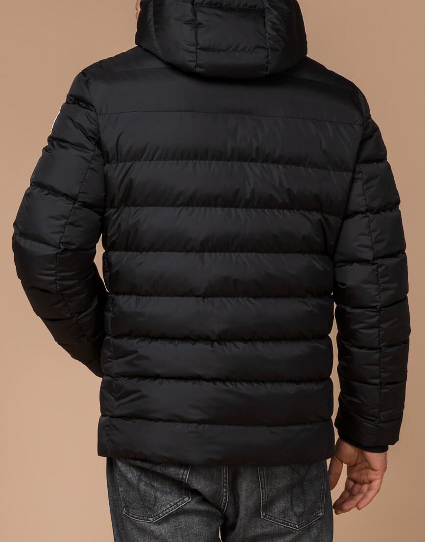 Куртка мужская цвет черный-желтый модель 35228 фото 3
