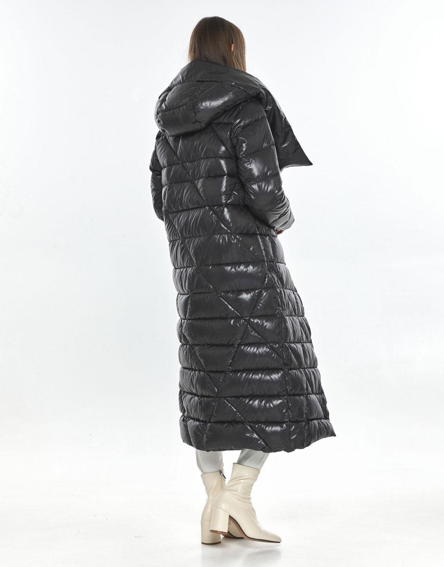 Подростковая зимняя куртка Vivacana на девушку серая 9470/21 фото 3