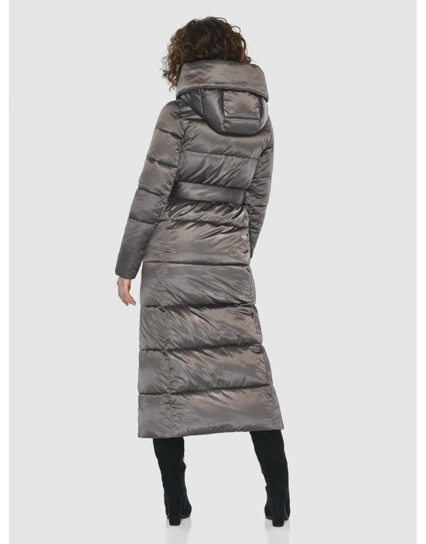 Капучиновая современная куртка Moc женская M6321 фото 4