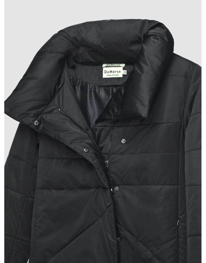 52 (XL) – последний размер – куртка с манжетами женская De Marse чёрная зимняя 200040 фото 3