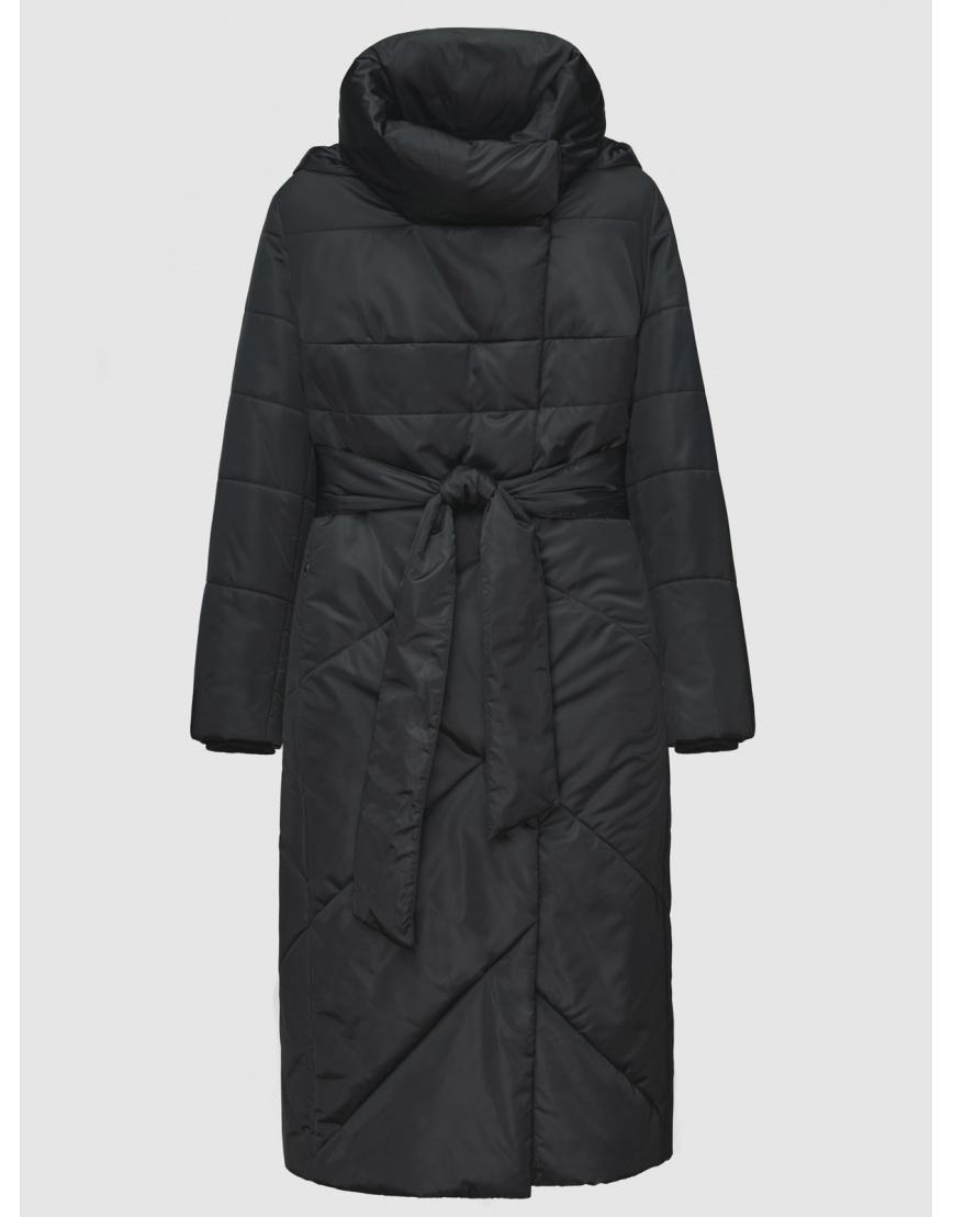 52 (XL) – последний размер – куртка с манжетами женская De Marse чёрная зимняя 200040 фото 1