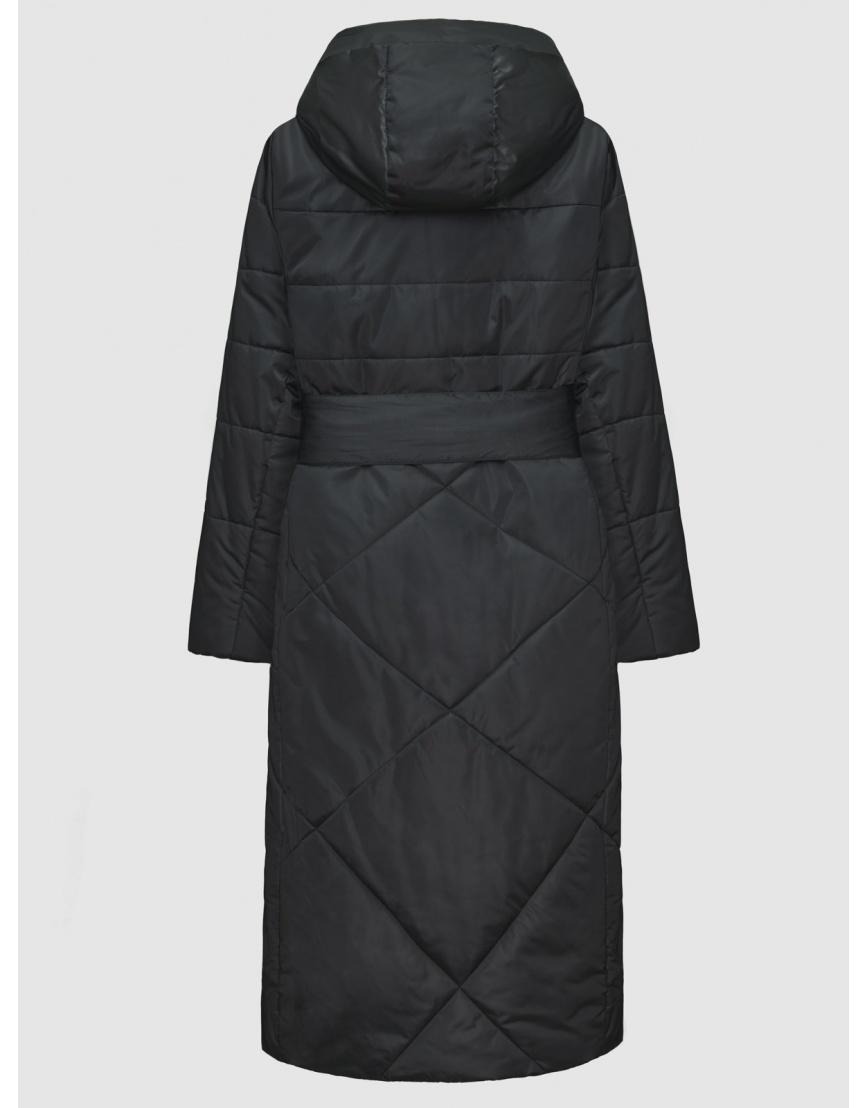 52 (XL) – последний размер – куртка с манжетами женская De Marse чёрная зимняя 200040 фото 2
