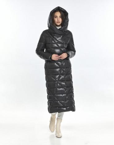 Подростковая зимняя куртка Vivacana на девушку серая 9470/21 фото 1
