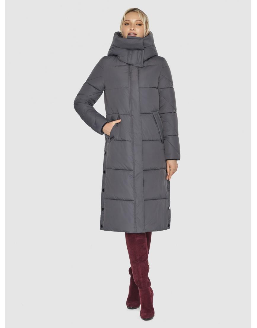 Куртка Kiro Tokao женская стильная серая 60024 фото 3