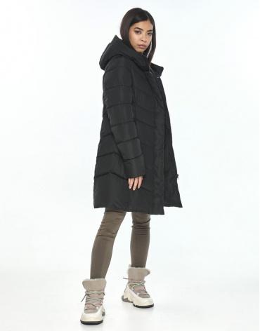Куртка на подростка-девушку чёрная Moc зимняя M6540 фото 1