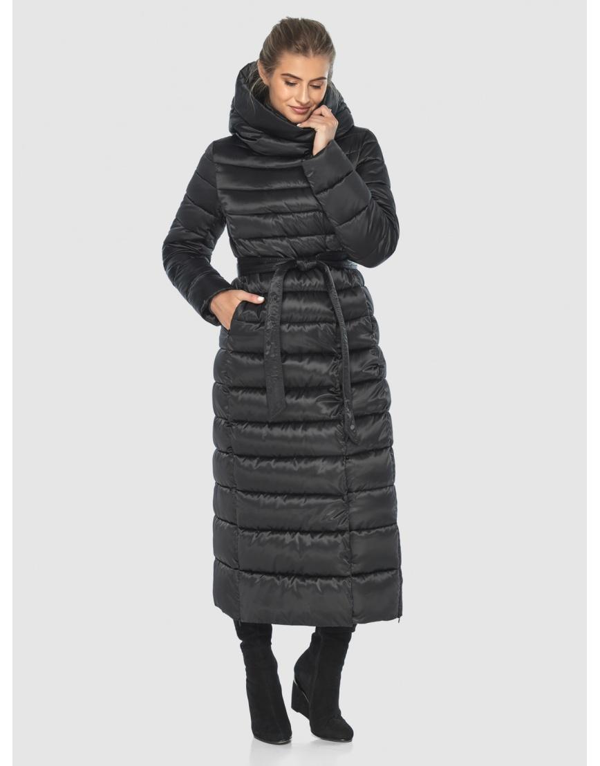 Чёрная куртка Ajento практичная зимняя для подростков 23320 фото 1