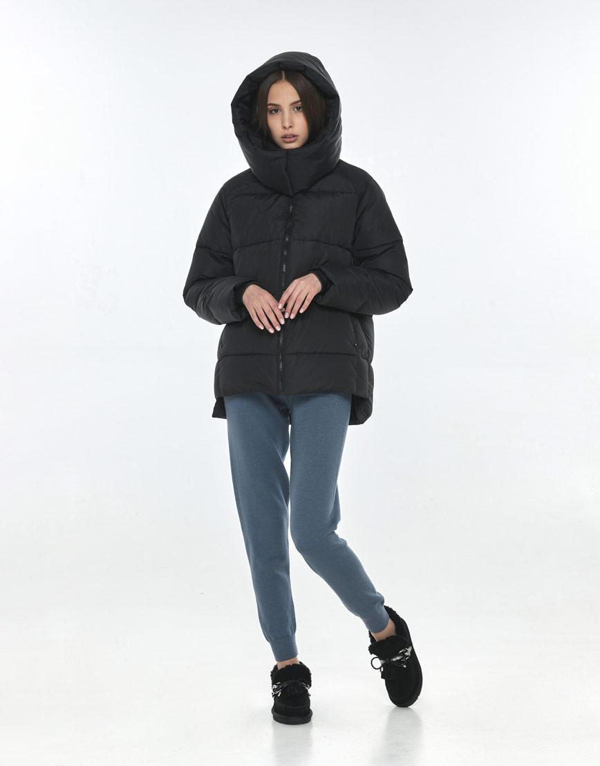 Короткая чёрная куртка Vivacana женская 7354/21 фото 1