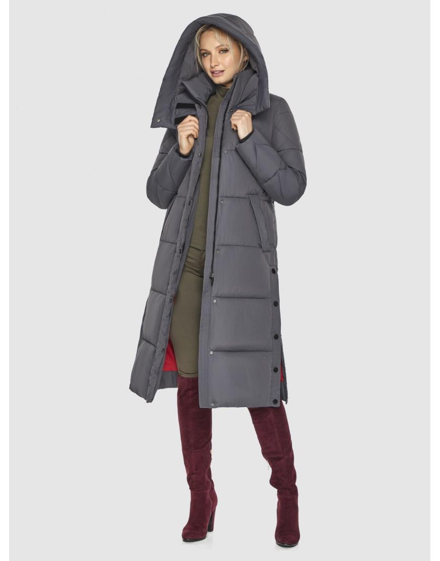 Куртка Kiro Tokao женская стильная серая 60024 фото 6