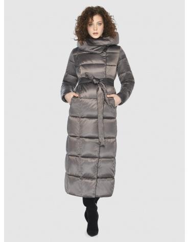 Капучиновая современная куртка Moc женская M6321 фото 1