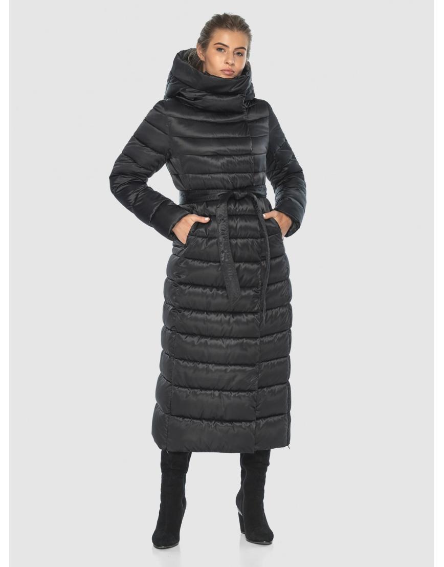 Чёрная куртка Ajento практичная зимняя для подростков 23320 фото 3