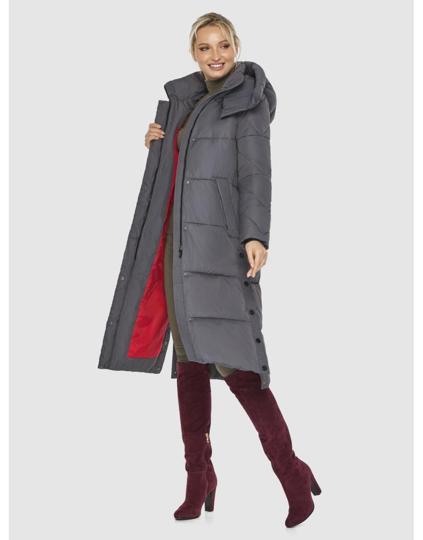 Куртка Kiro Tokao женская стильная серая 60024 фото 2