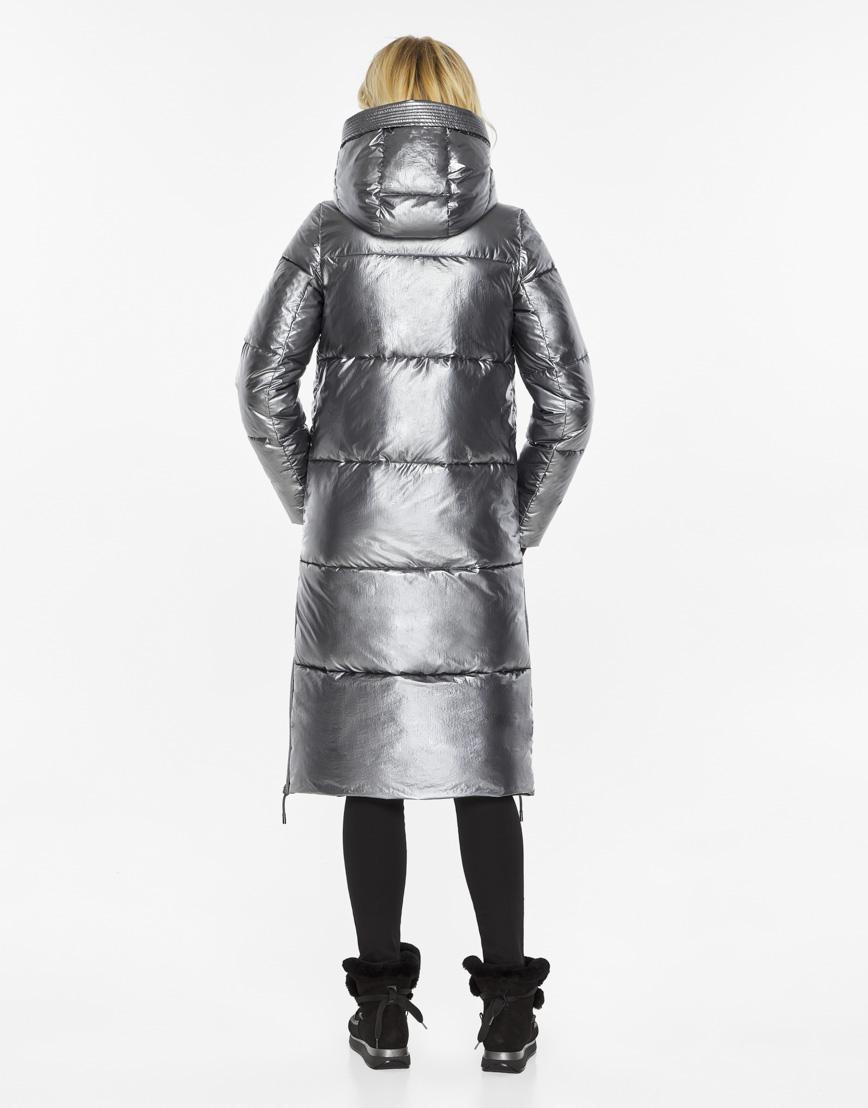 Женский воздуховик Braggart зимний трендовый цвет серебро модель 42650 фото 6