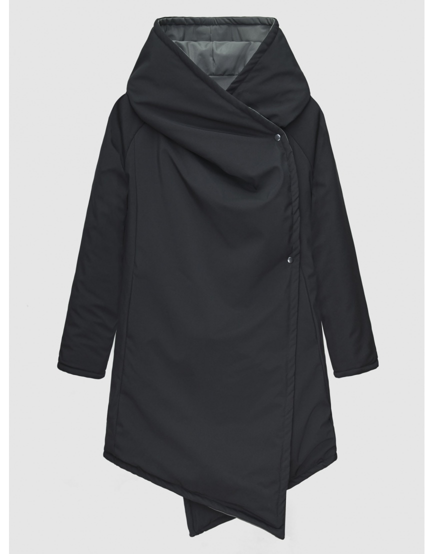 48 (M) – последний размер – куртка двусторонняя женская Neoby чёрная осенняя 200041 фото 1