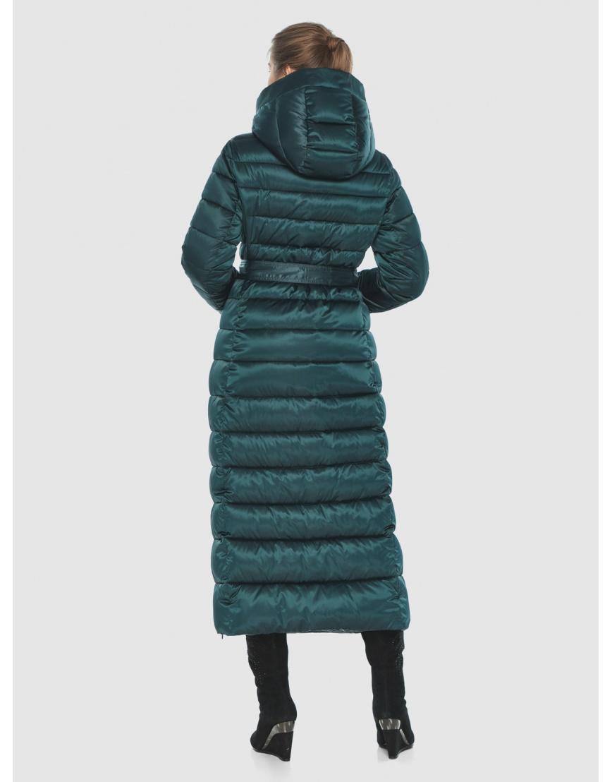 Куртка удобная зелёная Ajento зимняя для девушки 23320 фото 4