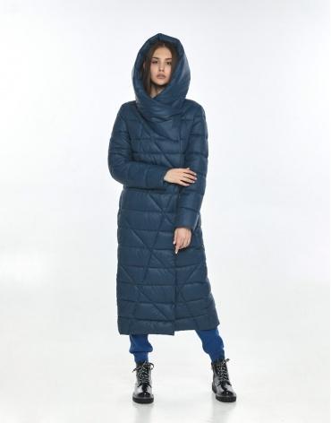 Синяя подростковая зимняя куртка Vivacana для девушки 9470/21 фото 1