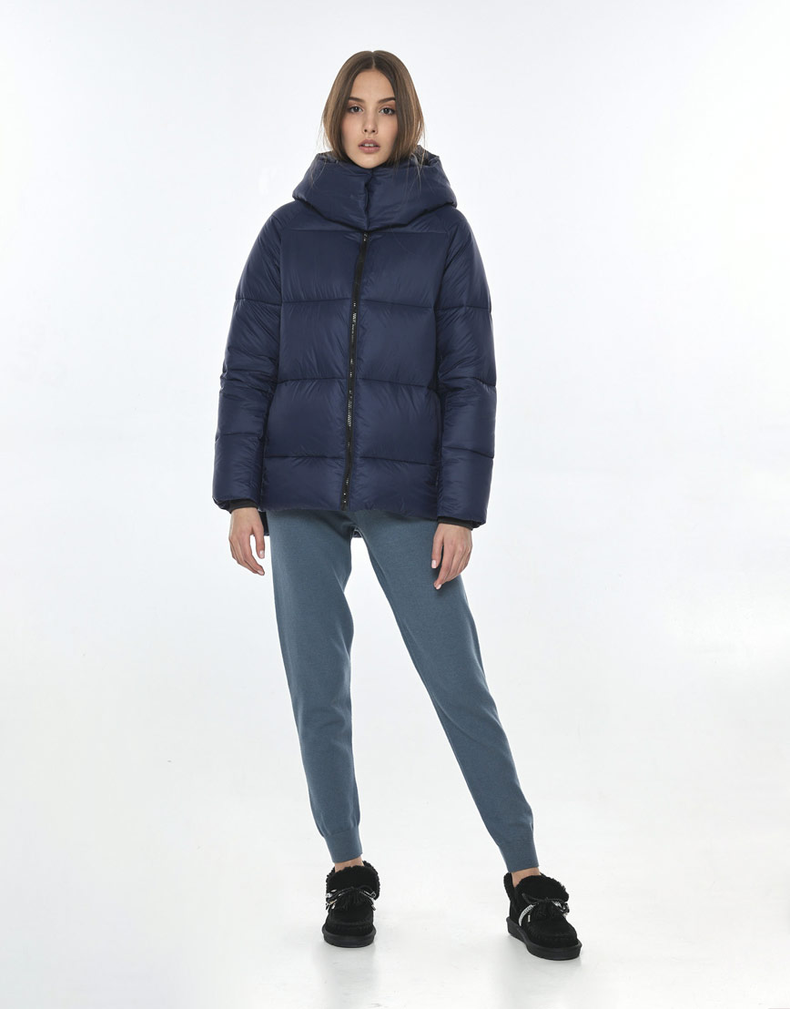Куртка синяя женская Vivacana 7354/21 фото 1