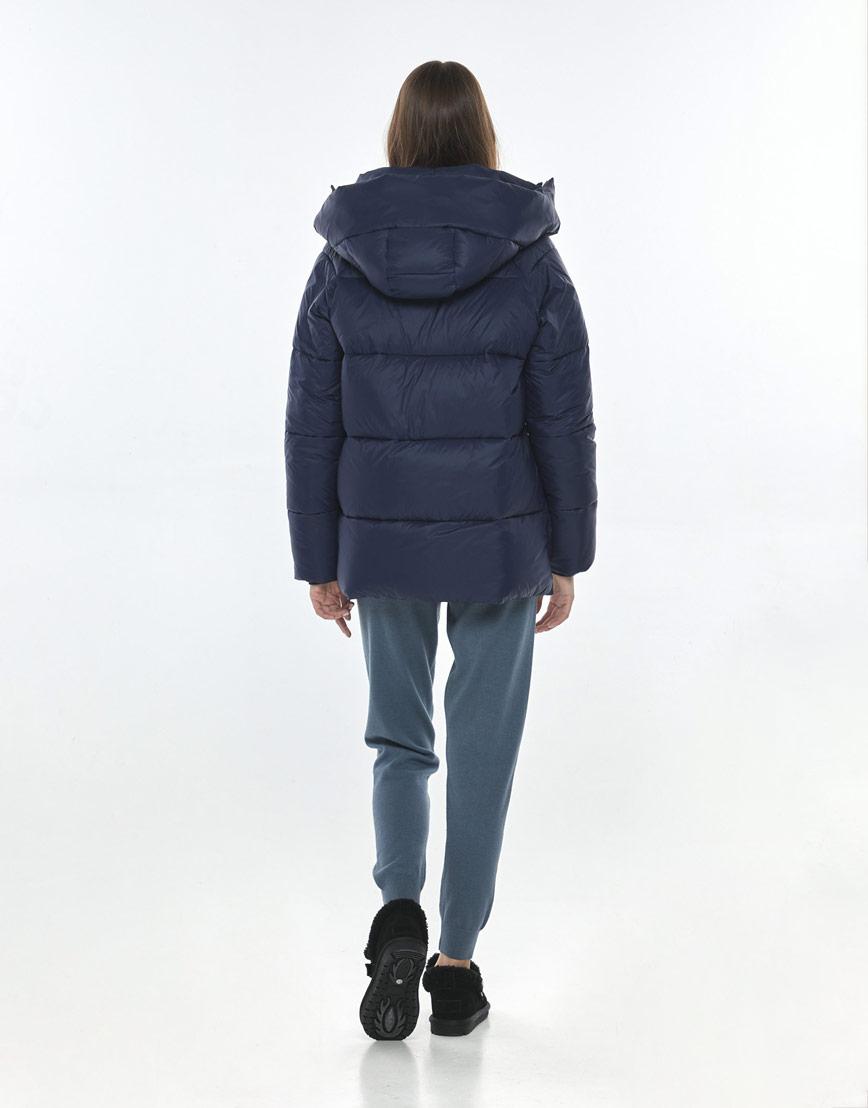 Куртка синяя женская Vivacana 7354/21 фото 3