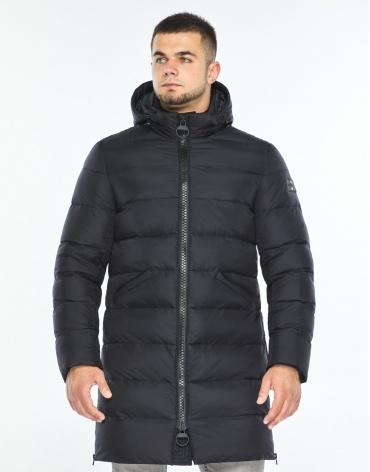 Куртка фирменная темно-синяя теплая модель 35260 фото 1