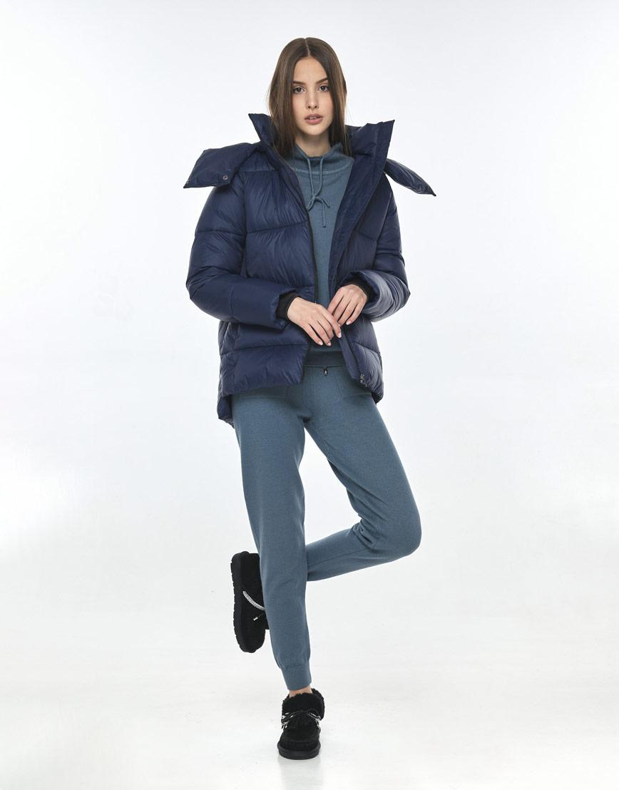 Куртка синяя женская Vivacana 7354/21 фото 2