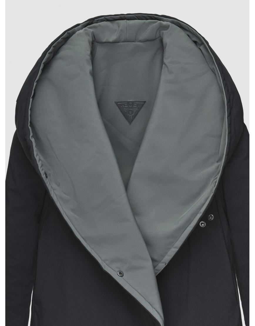 48 (M) – последний размер – куртка двусторонняя женская Neoby чёрная осенняя 200041 фото 4