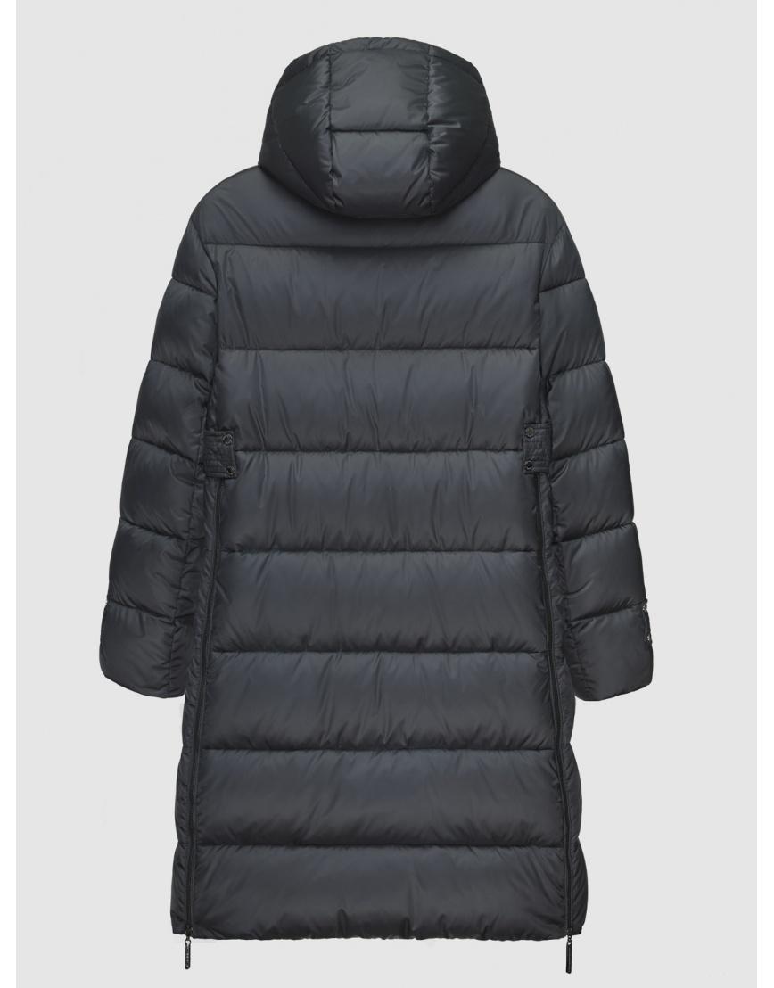 40 (3XS) – последний размер – куртка длинная женская Braggart серая на зиму 200042 фото 2