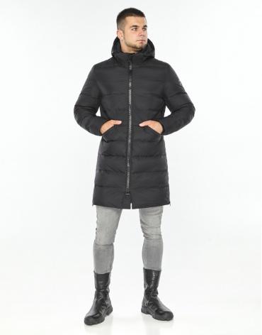 Графитовая куртка модная мужская модель 35260 фото 1