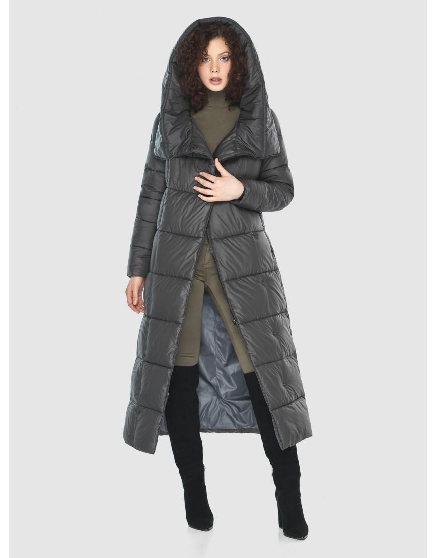 Женская куртка Moc цвет серый M6321 фото 6