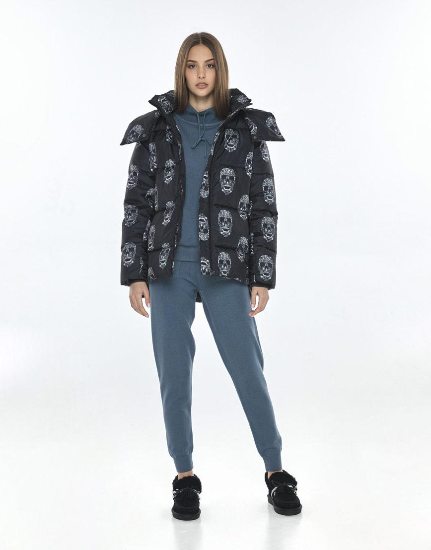 Женская куртка с рисунком модная Vivacana 7354/21 фото 2