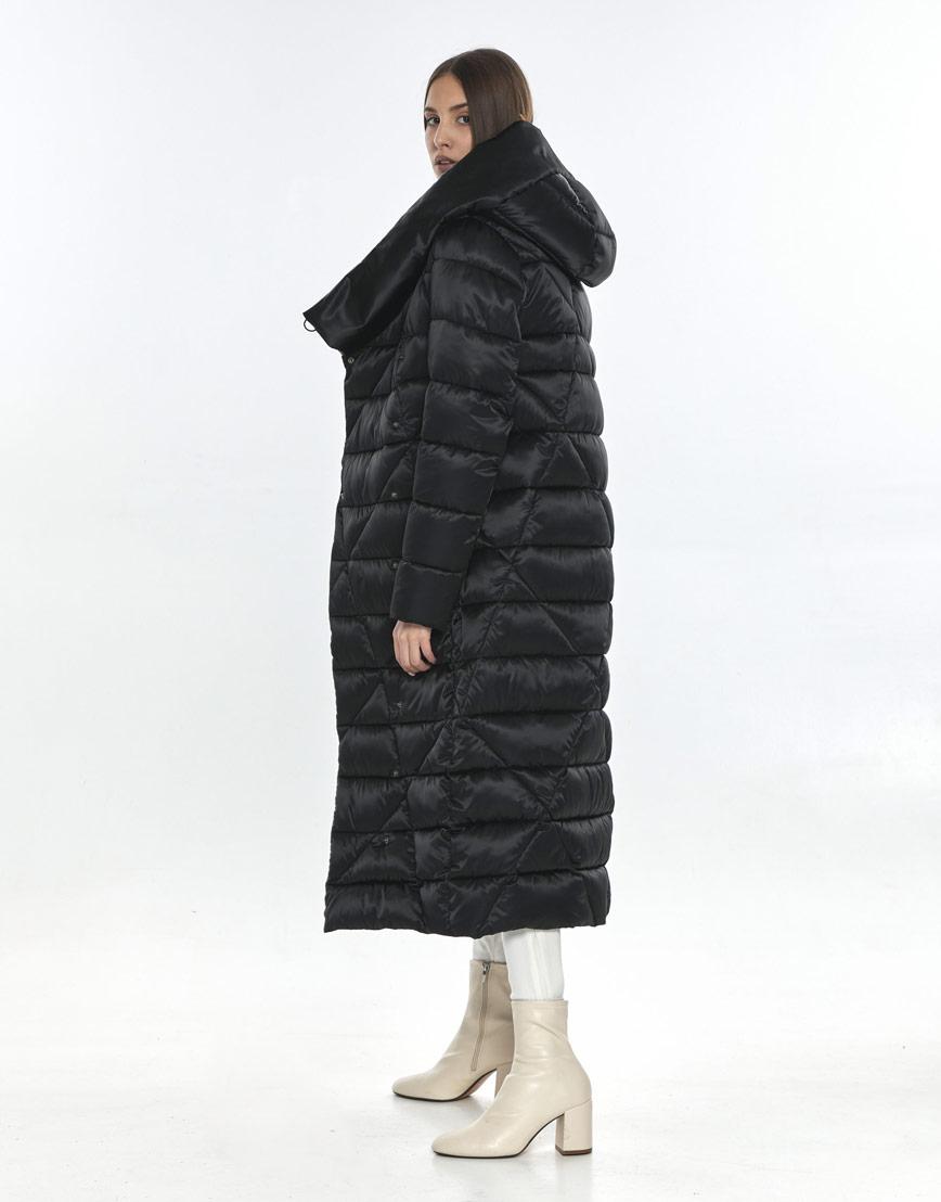 Куртка комфортная подростковая Vivacana чёрная на зиму 9470/21 фото 2