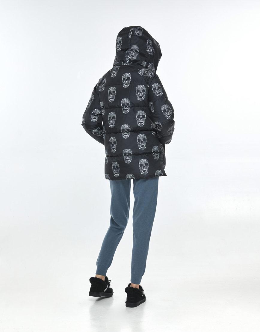 Женская куртка с рисунком модная Vivacana 7354/21 фото 3