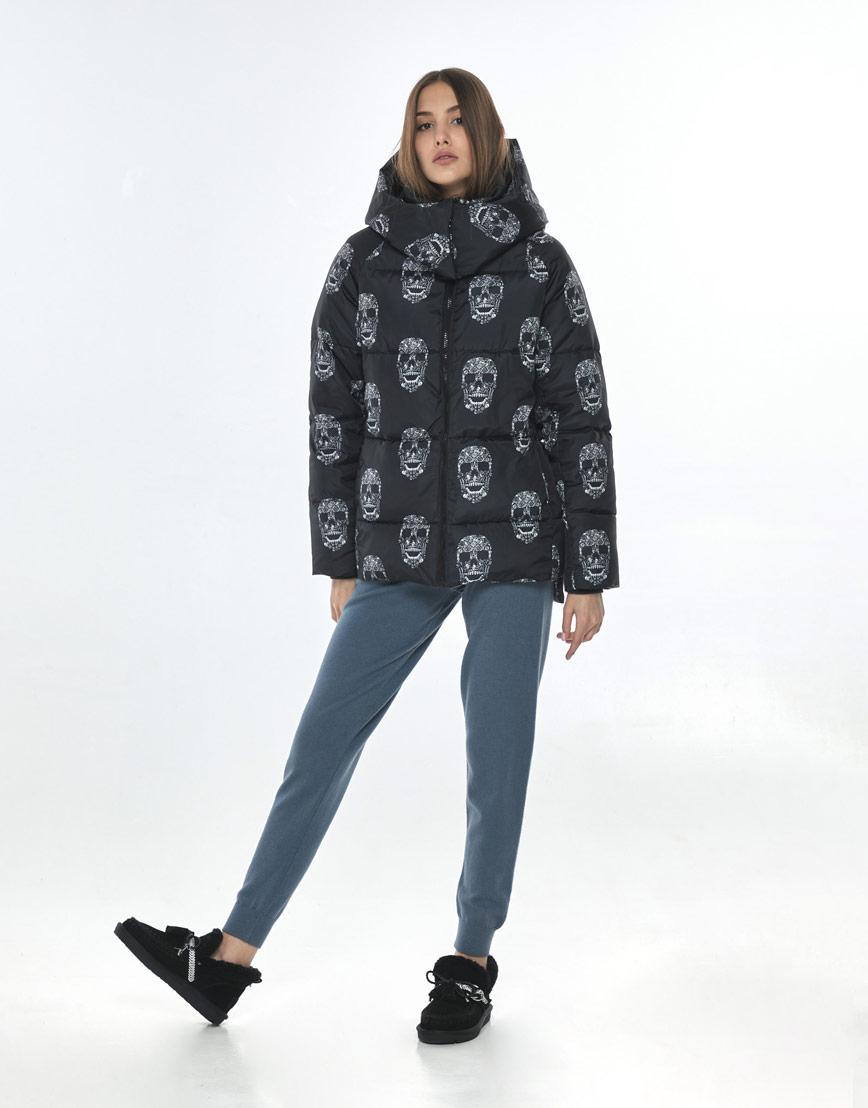 Женская куртка с рисунком модная Vivacana 7354/21 фото 1