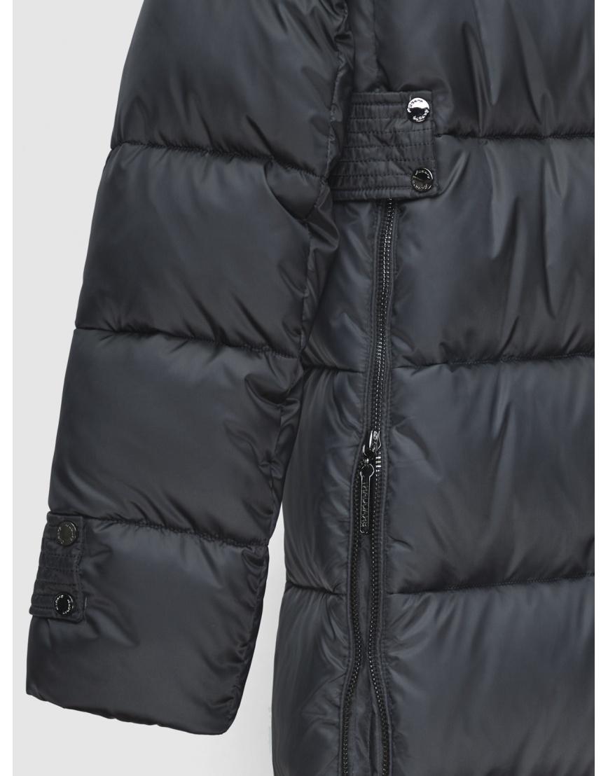 40 (3XS) – последний размер – куртка длинная женская Braggart серая на зиму 200042 фото 4
