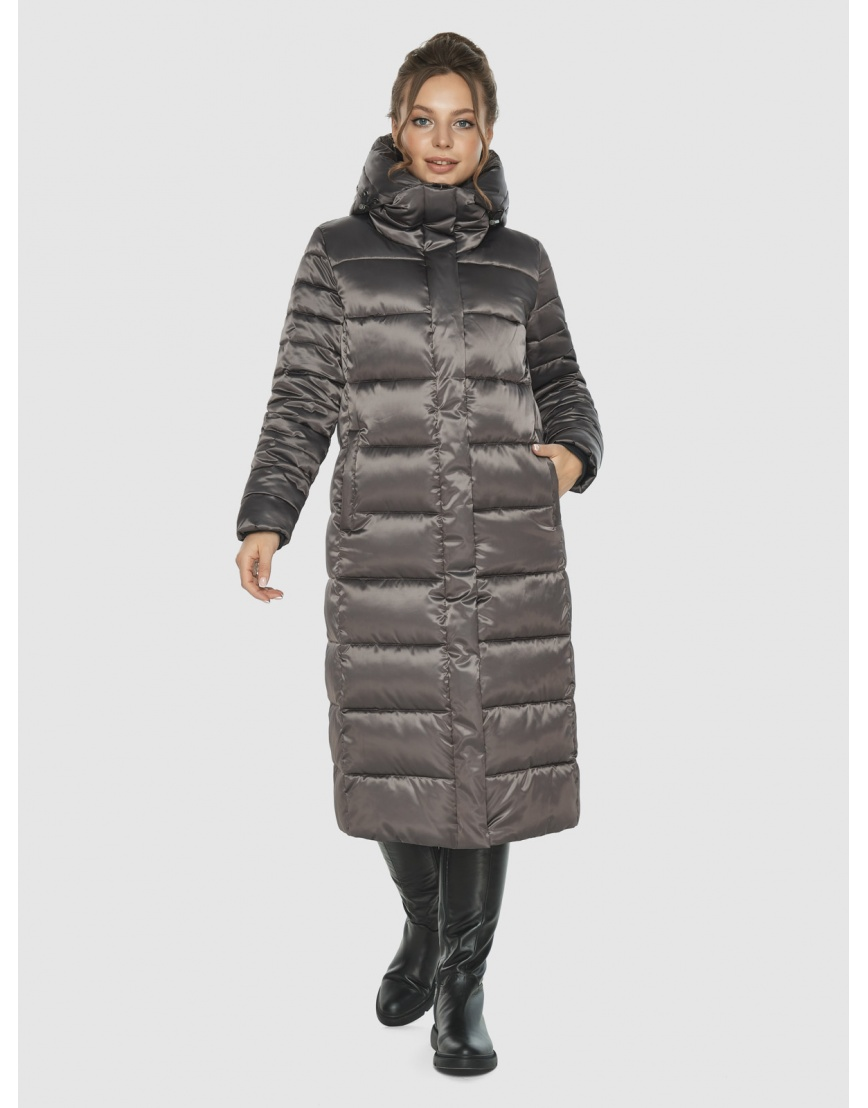 Женская куртка Ajento цвет капучино 21152 фото 6