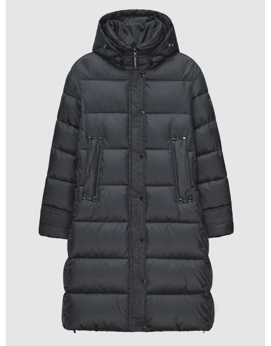 40 (3XS) – последний размер – куртка длинная женская Braggart серая на зиму 200042 фото 1