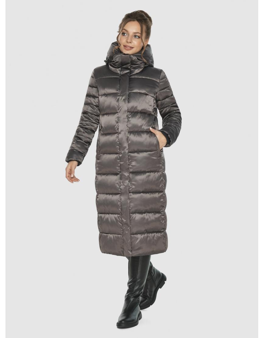 Женская куртка Ajento цвет капучино 21152 фото 3
