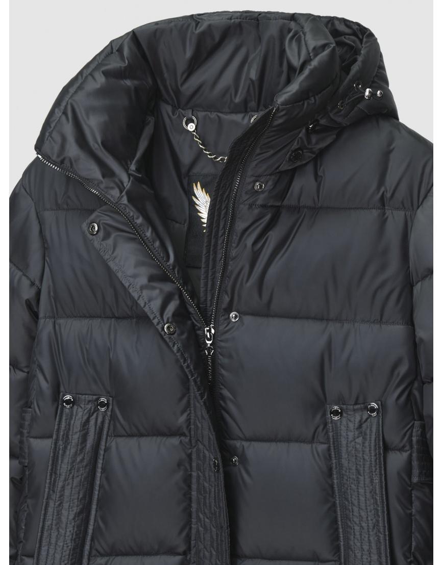 40 (3XS) – последний размер – куртка длинная женская Braggart серая на зиму 200042 фото 3