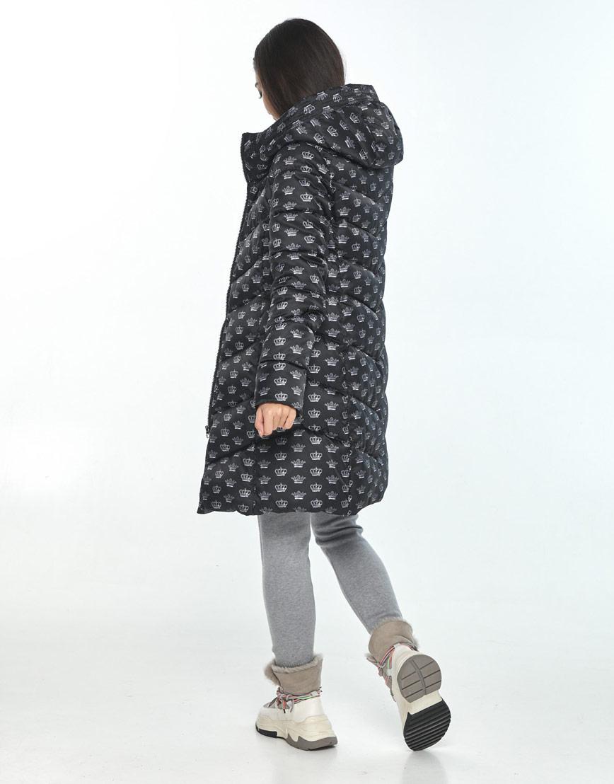 Куртка оригинальная подростковая Moc с рисунком зимняя M6540 фото 3