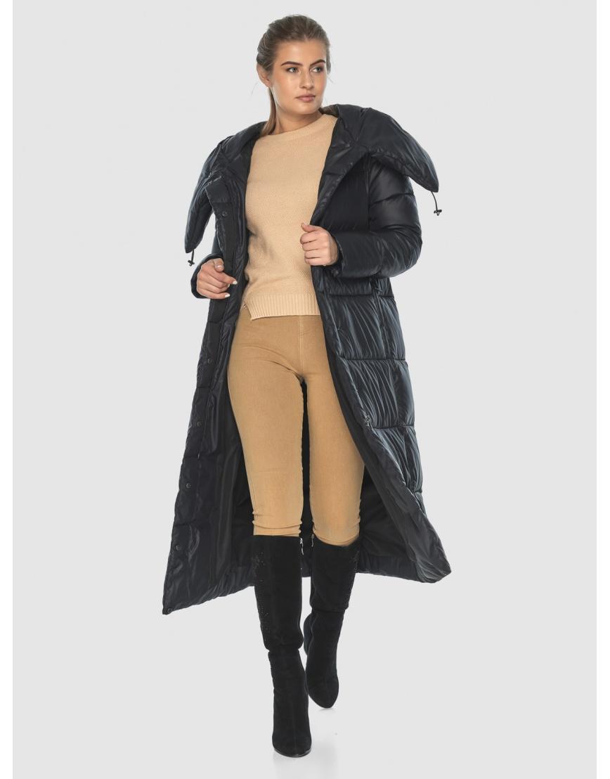 Куртка чёрная практичная подростковая Ajento для зимы 21550 фото 6