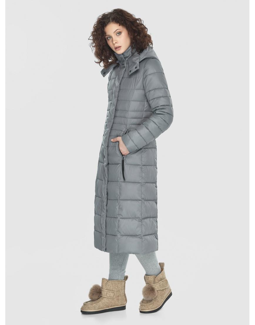 Куртка женская Moc серого цвета M6430 фото 1