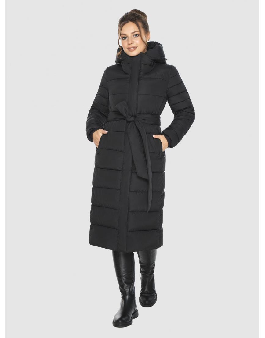 Женская куртка Ajento удобная чёрная 21152 фото 3