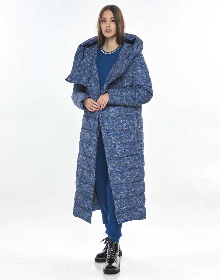 Удобная зимняя куртка с рисунком Vivacana на подростка-девушку 9470/21 фото 2