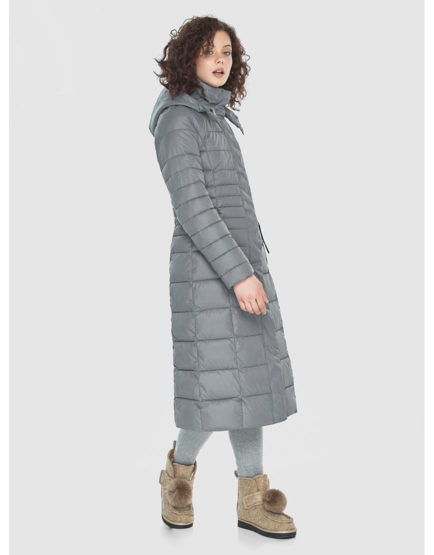 Куртка женская Moc серого цвета M6430 фото 5