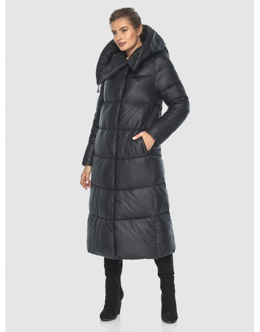 Куртка чёрная практичная подростковая Ajento для зимы 21550 фото 1