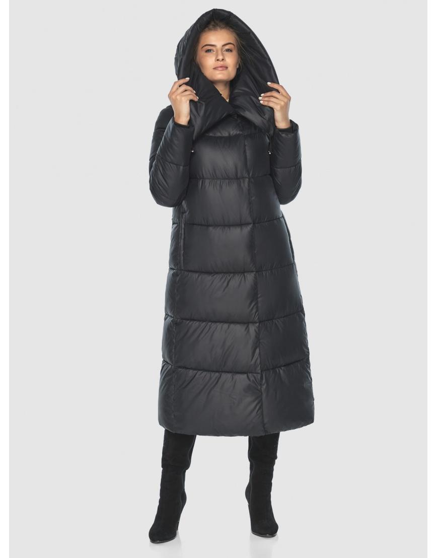 Куртка чёрная практичная подростковая Ajento для зимы 21550 фото 3