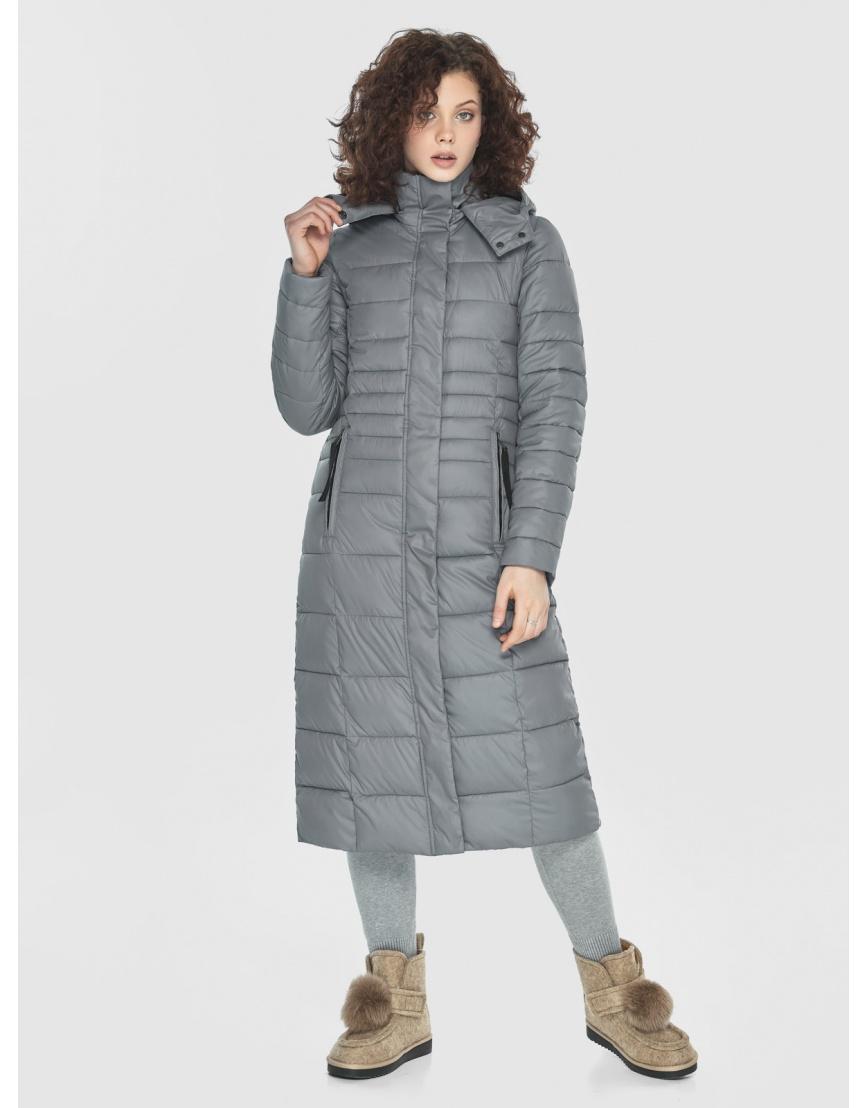 Куртка женская Moc серого цвета M6430 фото 3
