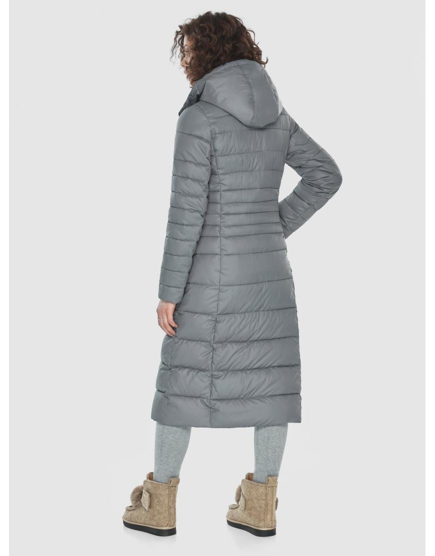 Куртка женская Moc серого цвета M6430 фото 4