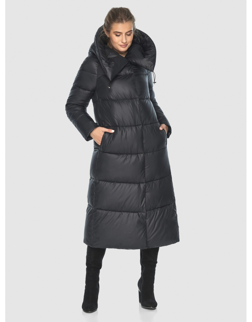 Куртка чёрная практичная подростковая Ajento для зимы 21550 фото 2